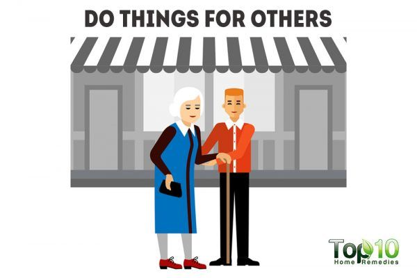 do things for others
