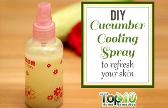 DIY Cucumber Cooling Spray to Refresh Your Skin