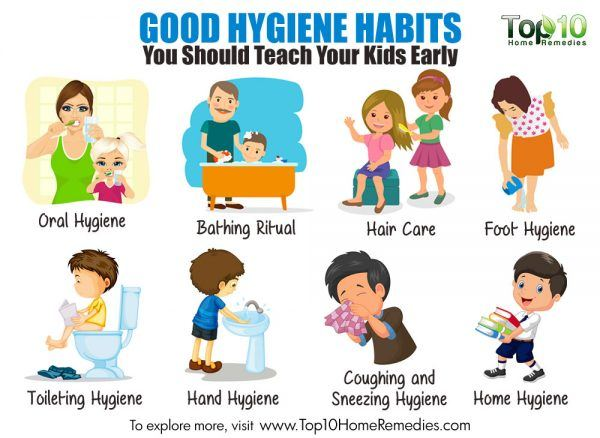 good hygiene habits for kids