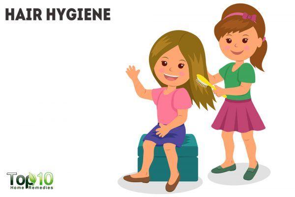 hair hygiene
