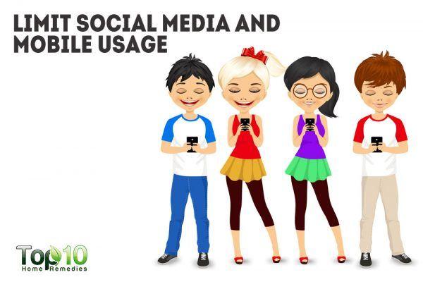 limit social media usage