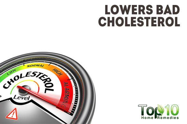 lowers bad cholesterol