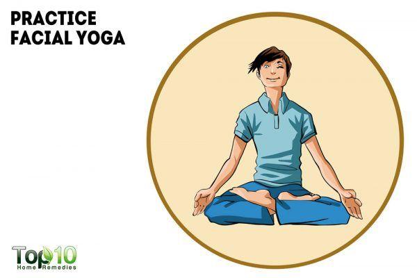 practice facial yoga