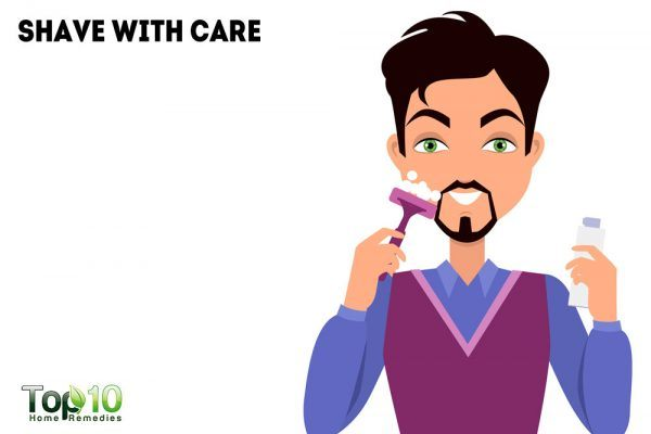 shave with care