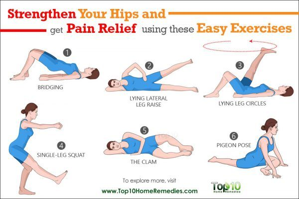 Strengthen Your Hips and Get Pain Relief Using These Easy Exercises