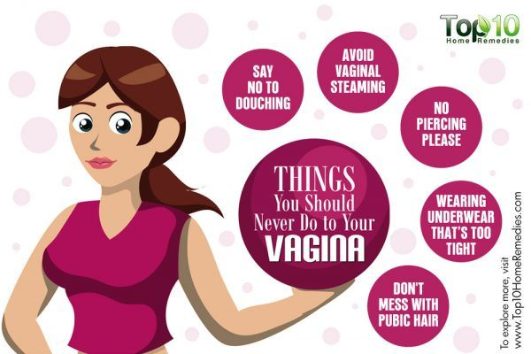 things you should never do to your vagina