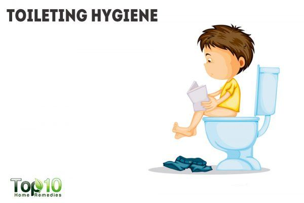 toileting hygiene
