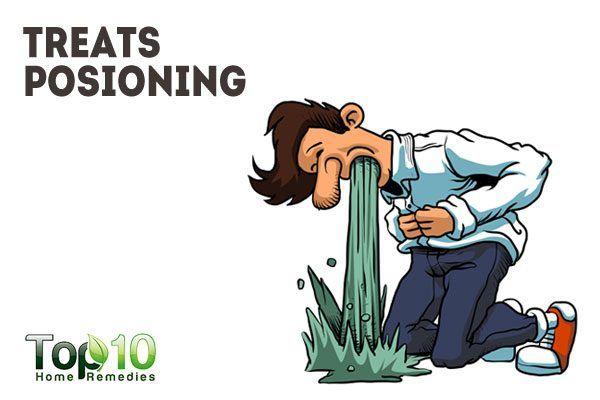 treats poisoning