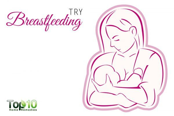try breastfeeding