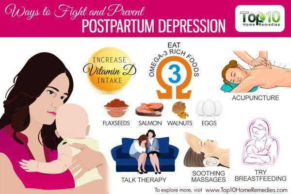 ways to fight postpartum depression