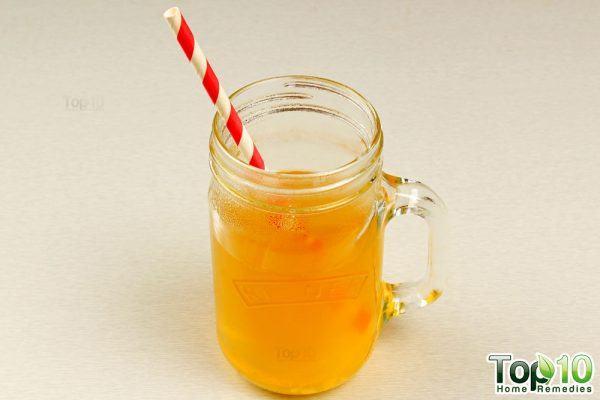 DIY homemade electrolyte drink