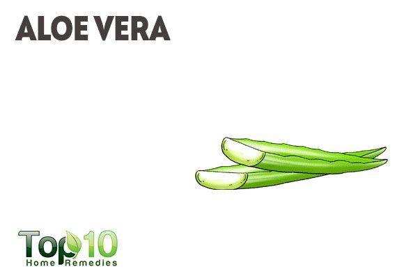 use aloe vera as natural makeup remover