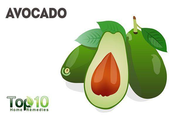 use avocado as natural makeup remover