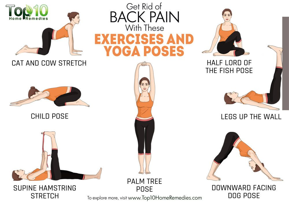 Here are some effective exercises and yoga poses to relieve you of the
