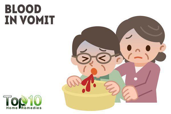 blood in vomit