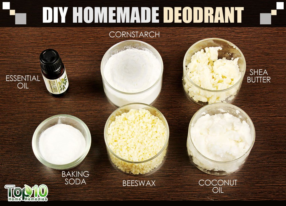 How to make homemade natural deodorant that really works for Homemade diy