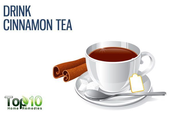 drink cinnamon tea