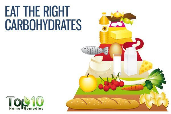 eat right carbohydrates