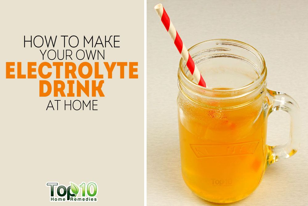 Homemade Healthy Electrolyte Energy Drink