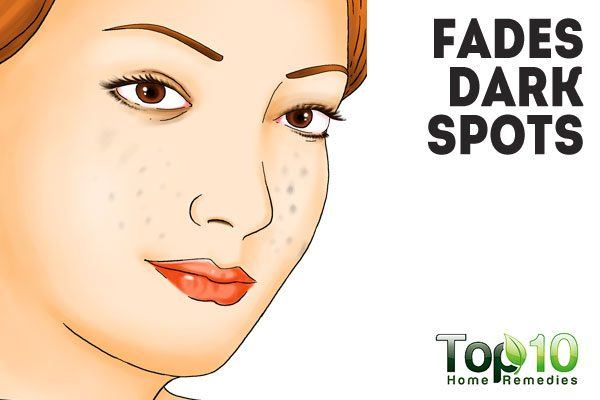 potato helps fade dark spots
