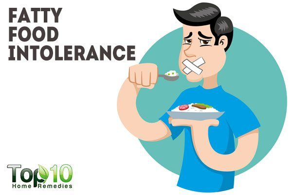 fatty food intolerance