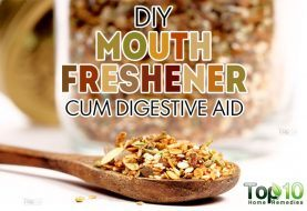DIY Mouth Freshener to Get Rid of Bad Breath and Improve Digestion