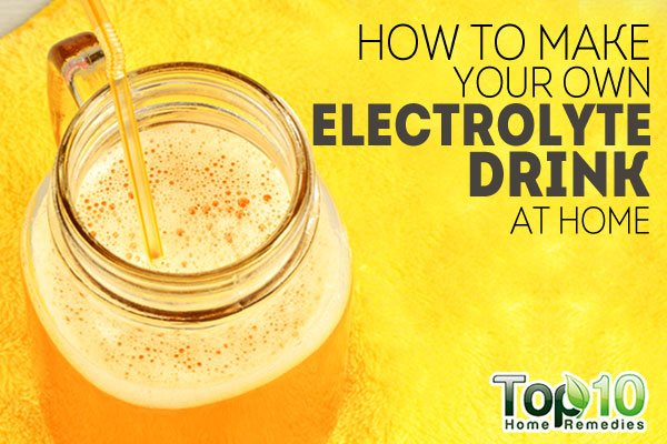 electrolyte drink at home