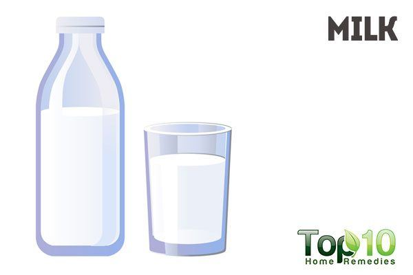 use milk as natural makeup remover
