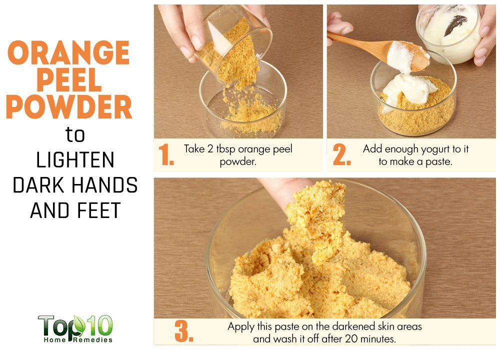 Home Remedies Whitening Feet
