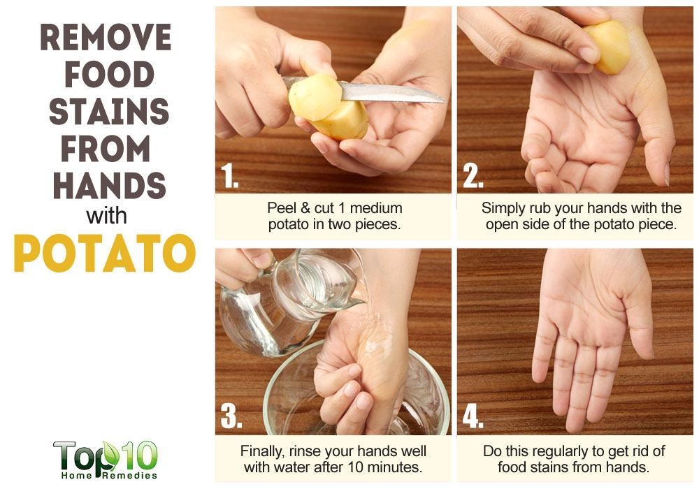 How To Remove Curry Stains >> 10 Surprisingly Weird but Practical Uses for Potatoes | Top 10 Home Remedies
