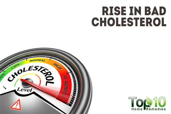 rise in bad cholesterol