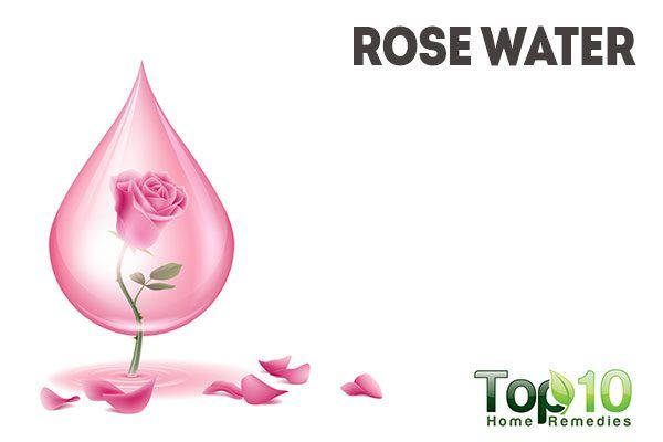 use rose water as natural makeup remover