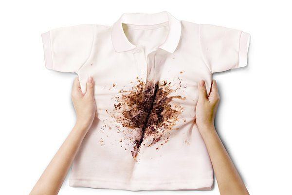 stained clothes