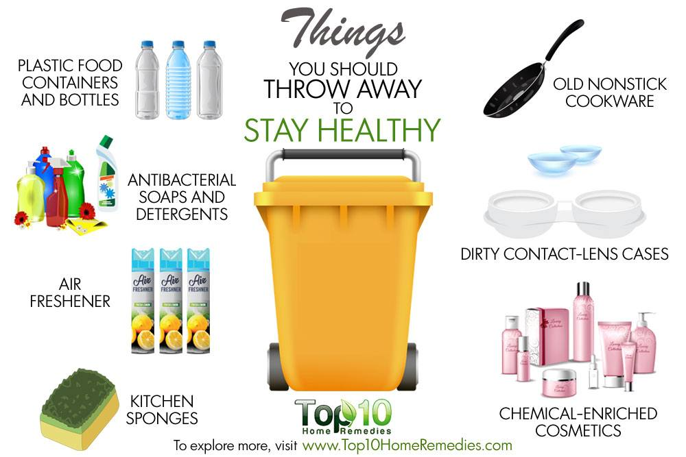 10 Things You Should Throw Away to Stay Healthy