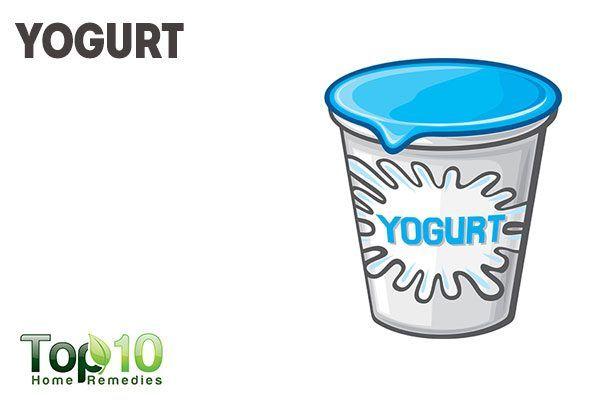 use yogurt as natural makeup remover