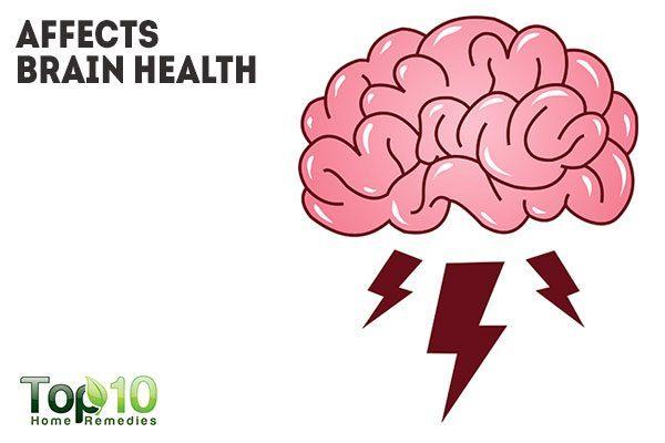 sugar affects brain health