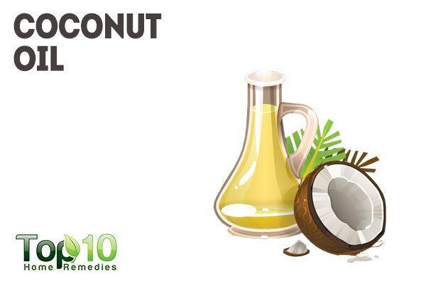 coconut oil to remove ear wax