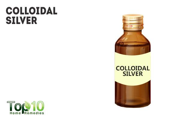 Colloidal silver and mold
