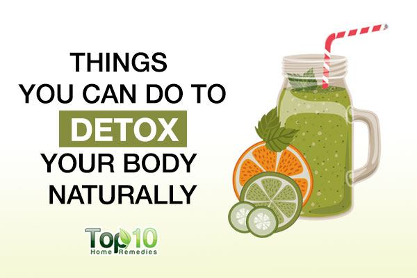 what to do to detox your body