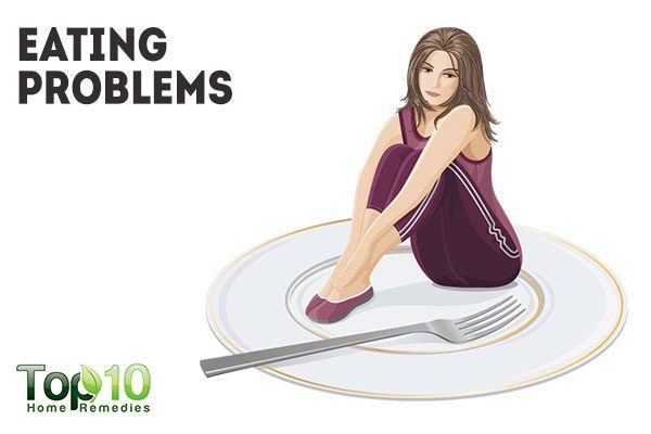 eating problems due to feelings of fullness
