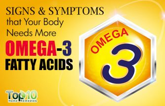 10 Signs and Symptoms that Your Body Needs More Omega-3 Fatty Acids