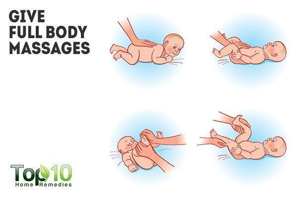 give full body massage