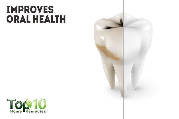sage improves oral health