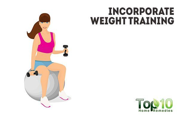 incorporate weight training