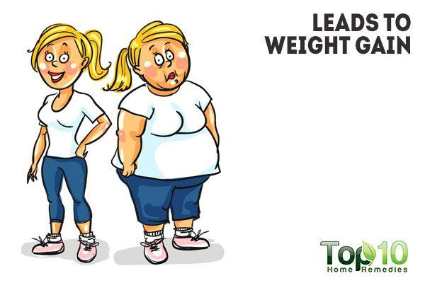 sugar leads to weight gain