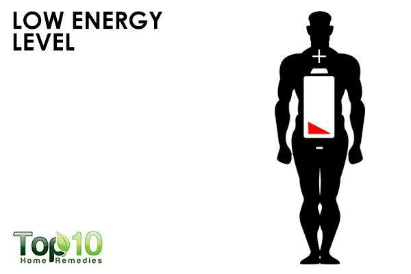 omega 3 deficiency causes low energy level
