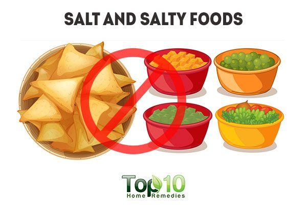 salt and salty foods