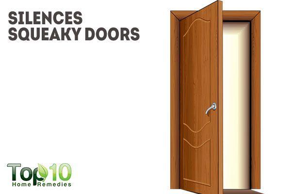 vaseline lubricates sqeaky doors