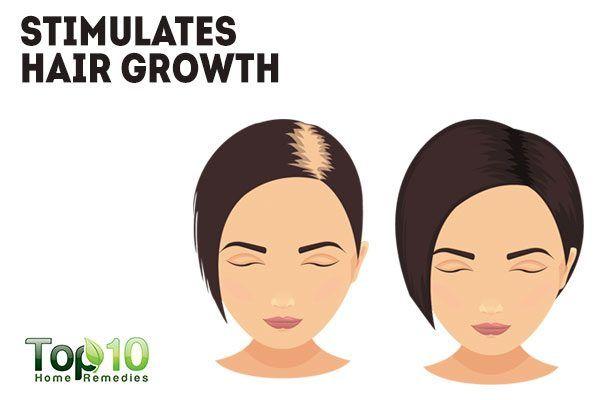 sage stimulates hair growth