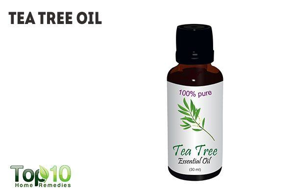 heal chest acne with tea tree oil
